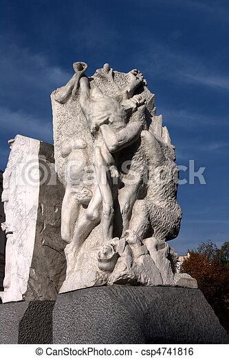 War Victims Memorial - Vienna - csp4741816