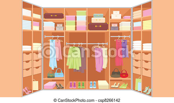 Wardrobe room - csp8266142