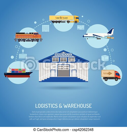 Warehouse and logistics concept - csp42062348