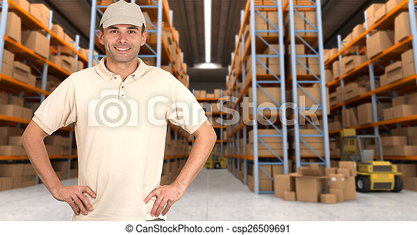 warehouse delivery b - csp26509691