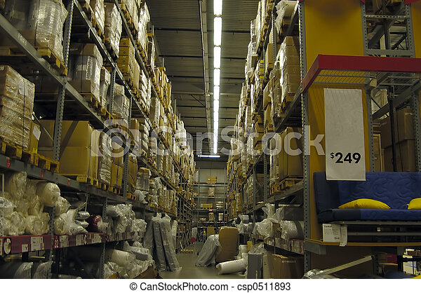Warehouse Interior - csp0511893
