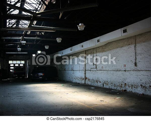 Warehouse parking - csp2176845