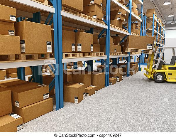 warehouse - csp4109247