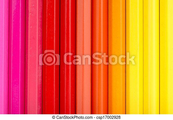 Warm Color Pencils - csp17002928