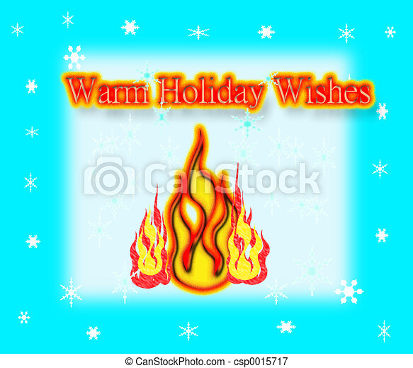Warm Holiday Wishes - csp0015717