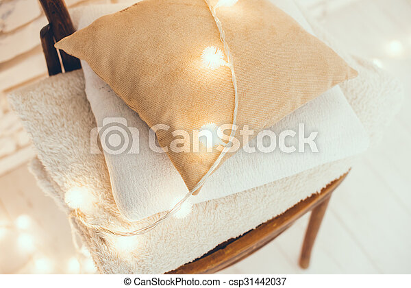warm home decor - csp31442037