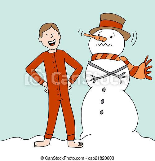 Warm Long Underwear - csp21820603