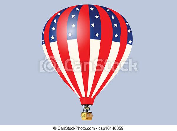 warme, balloon, lucht - csp16148359