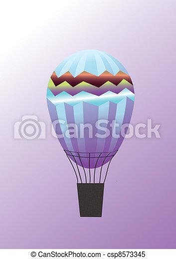 warme, balloon, lucht - csp8573345