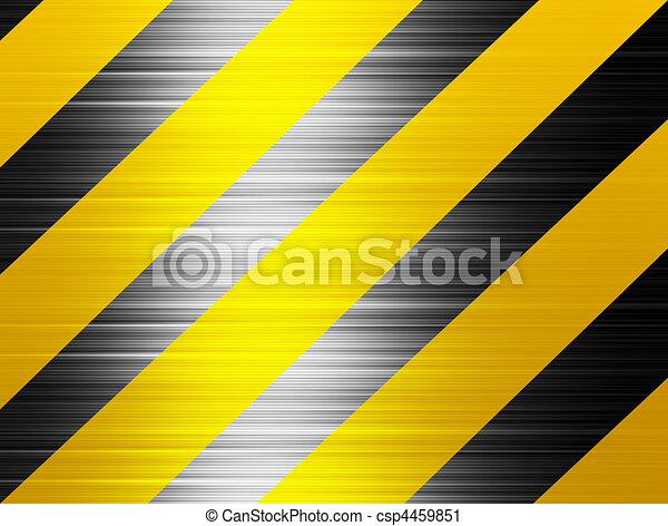 Horizontal Line Art : Warning lines yellow and black horizontal
