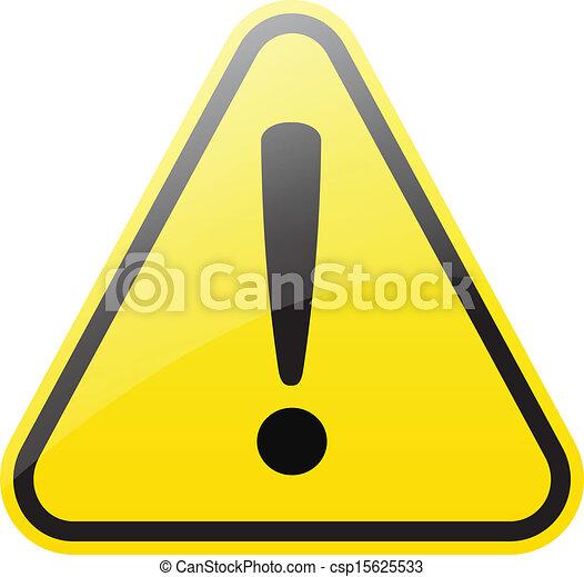 warning sign - csp15625533