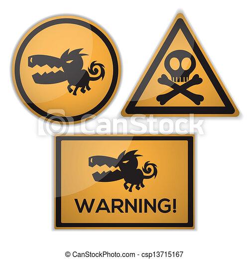 warning signs - csp13715167