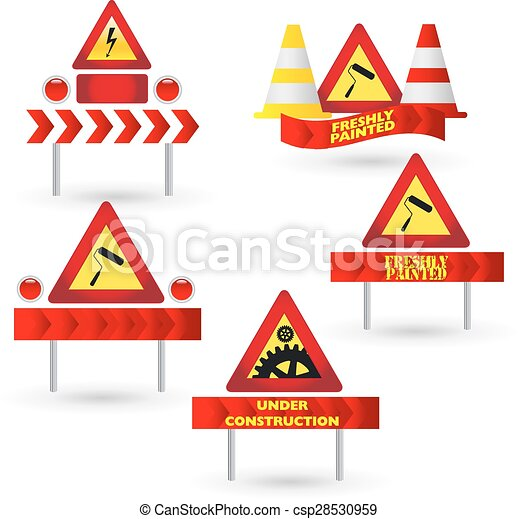 Warning signs - csp28530959