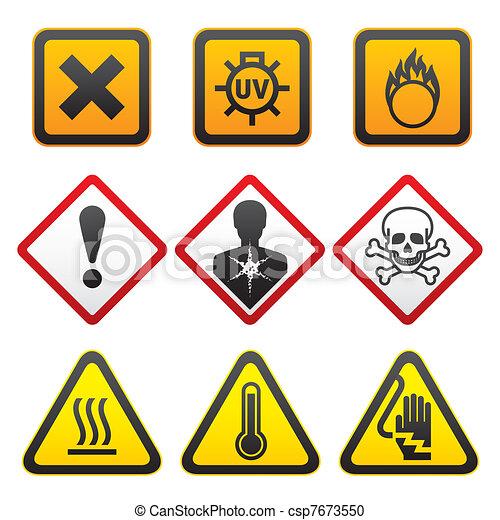 Warning Symbols Hazard Signs Warning Symbols And Hazard Signs