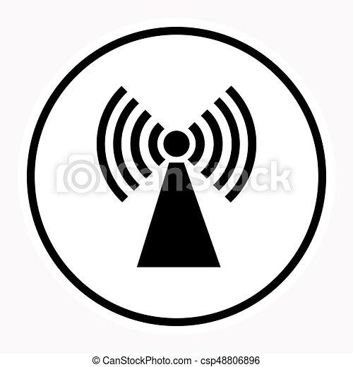 Warnung, aufmerksamkeit, zeichen, symbol., gefahr. Gefahr ...