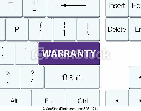 Warranty purple keyboard button - csp50511714