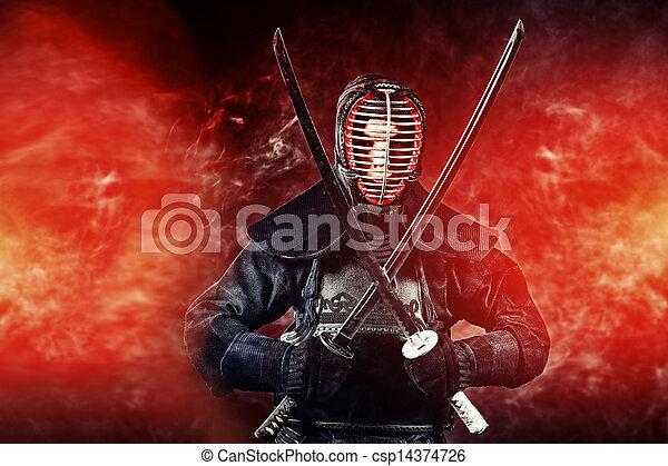 warrior kendo - csp14374726