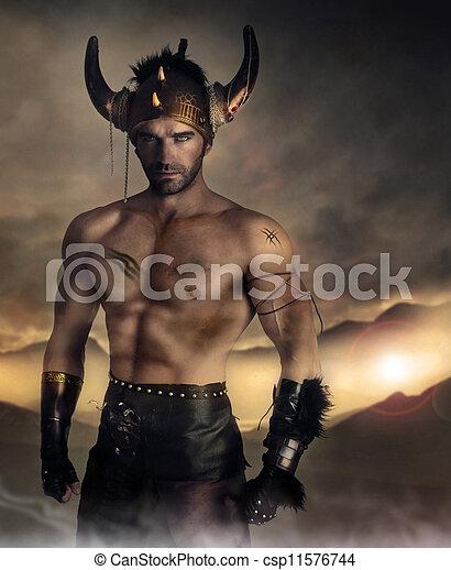 Warrior man - csp11576744