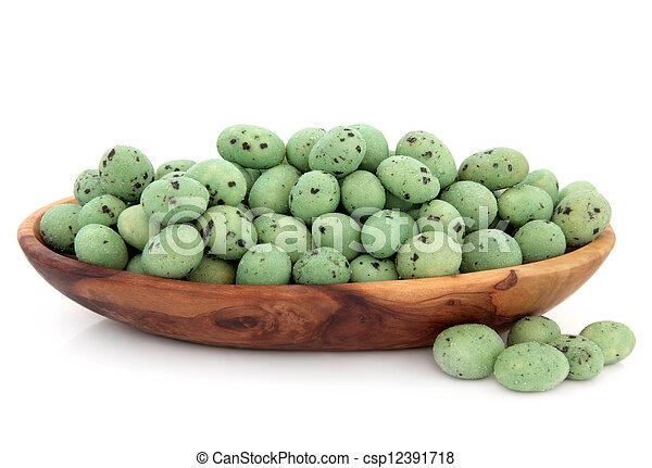 Wasabi Peanuts - csp12391718