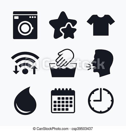 Wash Icon Not Machine Washable Symbol Wash Machine Icon Hand Wash