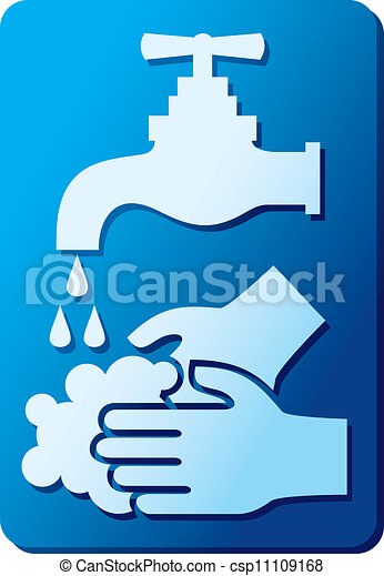 wash your hands sign - csp11109168