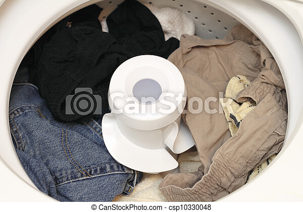 Washed Laundry - csp10330048