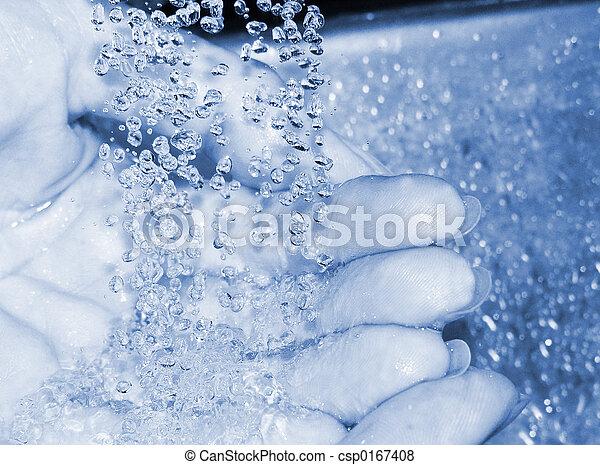 Washing hands - csp0167408