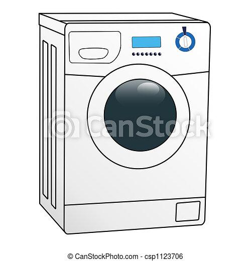 washing machine color illustration of the washing machine on white rh canstockphoto com washing machine clip art free free clipart washing machine