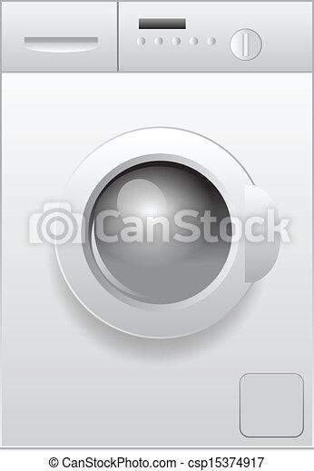 washing machine - csp15374917