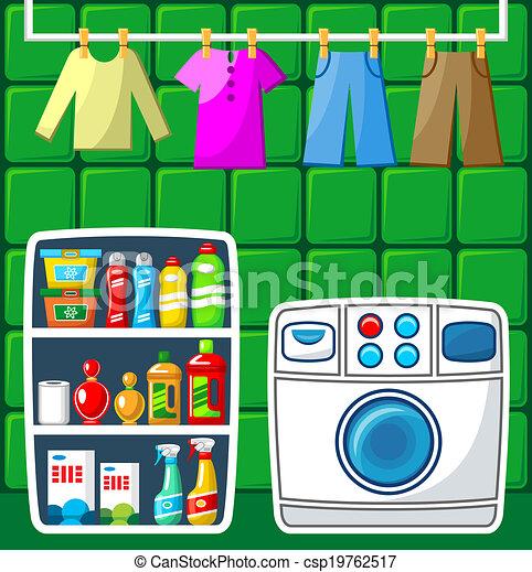 Washing room.  - csp19762517