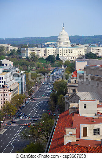 washington d.c. - csp3667658