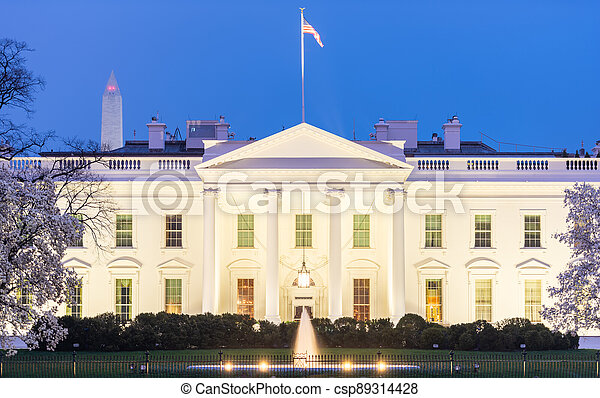 Washington, DC at the White House - csp89314428