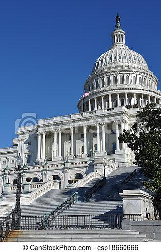 Washington DC Capitol Hill Building - csp18660666