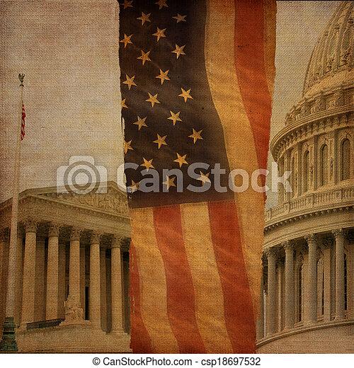 Washington DC Montage - csp18697532