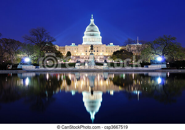 Washington DC - csp3667519