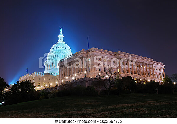 washington, nous, dc, capitole - csp3667772