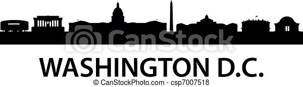 Skyline Washington D.C. - csp7007518