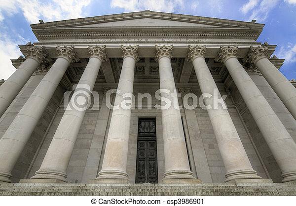 Washington State Capital Legislative Building - csp3986901
