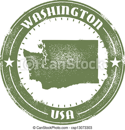 Washington State Stamp - csp13073303