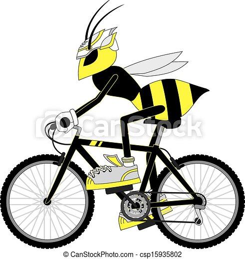 Wasp bike - csp15935802