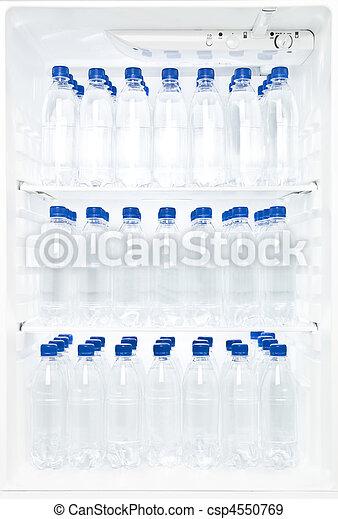Wasser Voll Kuhlschrank Wasser Mehrere Flaschen Kuhlschrank