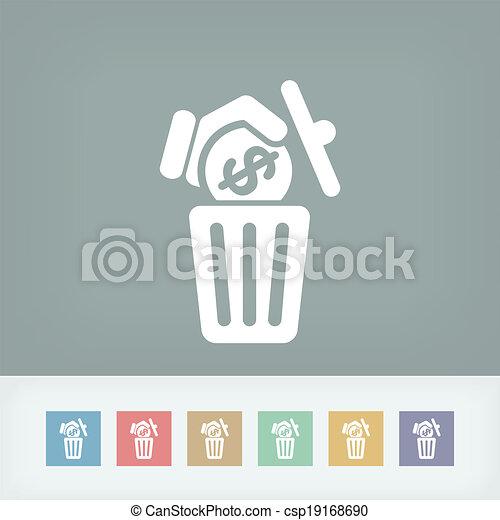 Waste of money - csp19168690