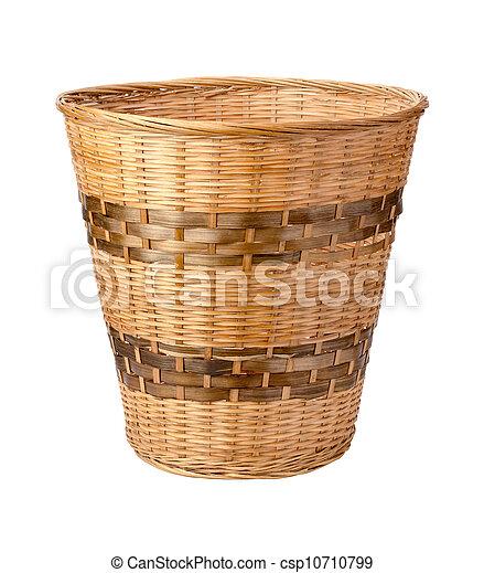 Wastebasket Isolated - csp10710799