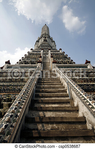 Wat Arun Temple - csp0538687