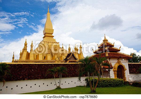 Wat Pha-That Luang - csp7878680