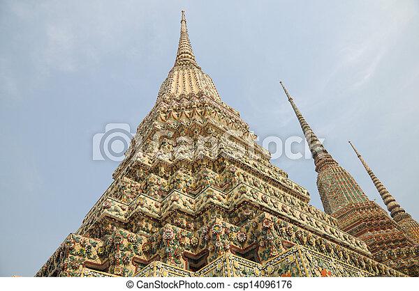 Wat Pho Temple at Thialand - csp14096176