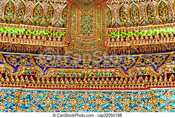 Wat Po Temple - csp32050188