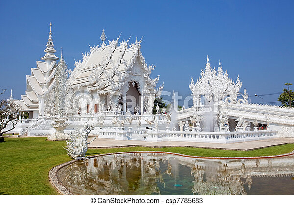 Wat Rong Khun - csp7785683