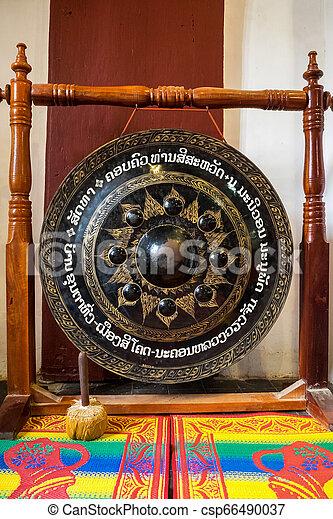 Wat Visounnarath temple in Luang Prabang, Laos. - csp66490037