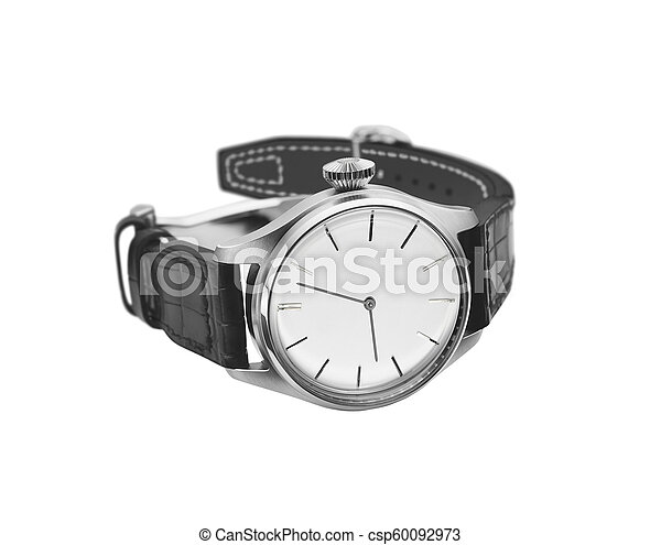 watch isolated on a white background - csp60092973